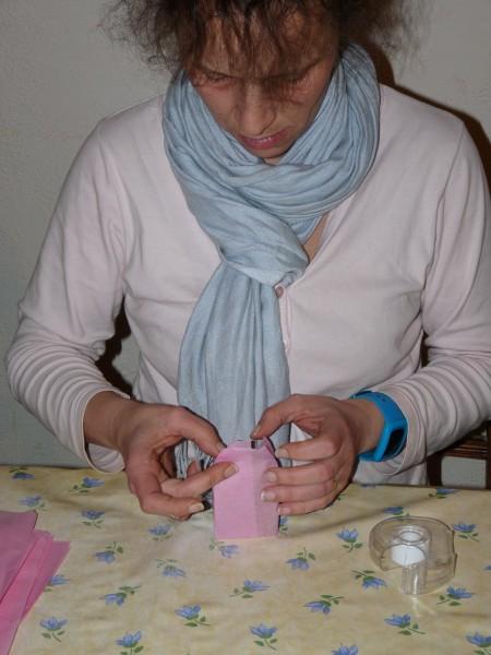 Emballage et étiquetage de chaque savon