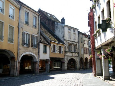Les arcades de Louhans