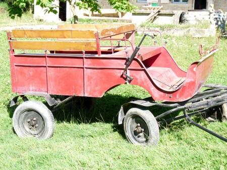 Mon nouveau moyen de transport.