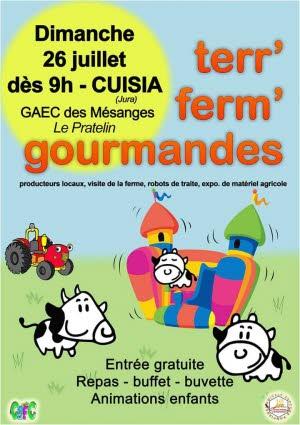 Venez découvrir le monde agricole à Cuisia