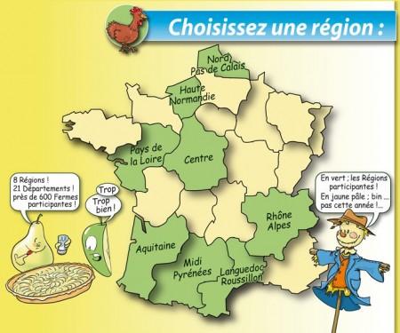 La France de ferme en ferme