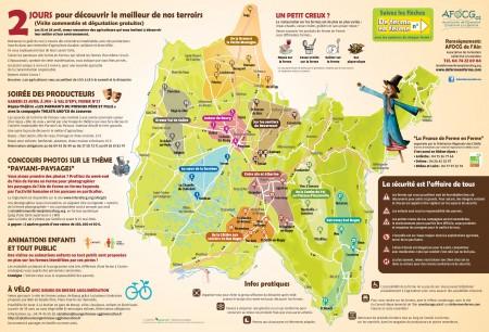 Carte des participants
